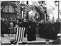Former President Theodore Roosevelt speaking at the University of Washington, Seattle, April 6, 1911 (MOHAI 4077).jpg