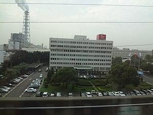 Renwu District - Image: Formosa Plastics Renwu Plant near THSR line 20131119