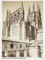 Fotografi av Burgos. Vista de la Catedral, tomada desde el claustro - Hallwylska museet - 105344.tif
