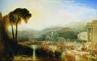 <i>The Fountain of Indolence</i> painting byJ. M. W. Turner