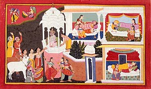 Lakshmana - Birth of Four Sons of Dasharatha