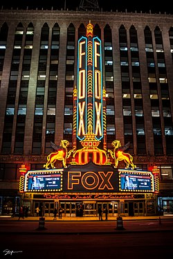 Image result for fox theater detroit