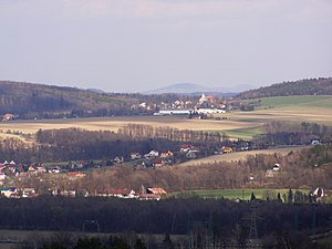 Janovice - A general view of the village