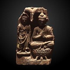Fragment of buddhic triad