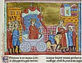 Framed miniature of King Jugurtha paraded through Rome as a prisoner.jpg