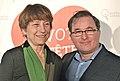 Françoise David et Jean-Pierre Duchesneau 2014-03-09.jpg