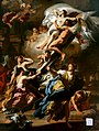 Francesco Solimena - Boreas Abducting Oreithyia, Daughter of Erechteus.jpg