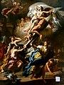 Francesco Solimena - Boreas Abducting Oreithyia, Daughter of Erechteus.jpg