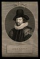 Francis Bacon, Viscount St Albans. Line engraving after Blye Wellcome V0000269.jpg