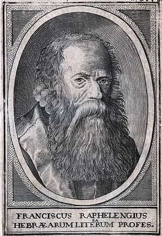 Raphelengius - Franciscus Raphelengius