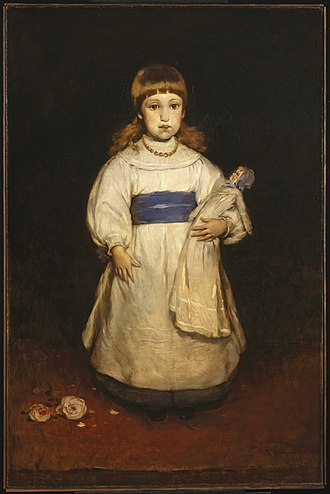 Frank Duveneck - Image: Frank Duveneck Mary Cabot Wheelwright Google Art Project