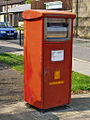 Franked-mail only pillar box.jpg