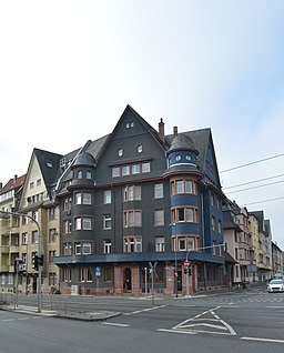 Friedberger Landstraße in Frankfurt am Main