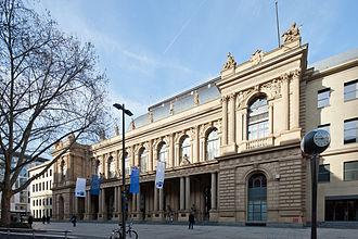 Frankfurt Stock Exchange - Image: Frankfurt Am Main Neue Boerse von Suedosten 20120222