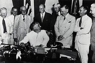 Banking Act of 1935 US banking legislation