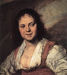 Frans Hals: The Gipsy Girl
