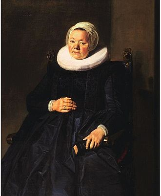Hylck Boner - Image: Frans Hals Portrait of a woman in 1635 Frick 1910.1.72