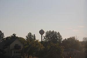 Frazee, Minnesota - Water tower