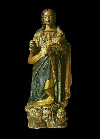 Brazilian sculpture - Image: Frei Agostinho de Jesus Nossa Senhora da Purificação