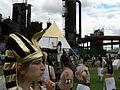 Fremont Solstice Parade 2007 - Gasworks pyramid 04.jpg