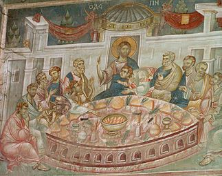 Frescos in St. George's Church (Staro Nagoricane) 06.JPG