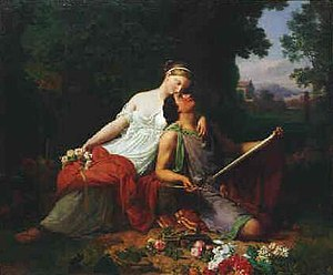 The painter and his muse