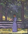 Fritz Baumann Anny im Garten 1912.jpg