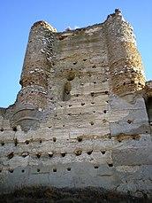 Torre del homenaje del castillo, de casi 30 metros de altura.