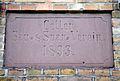 Fuhrberger Straße 46, 48, Celle, Inschrift Celler Bau- und Spar-Verein. 1893. Musterhaus der.jpg