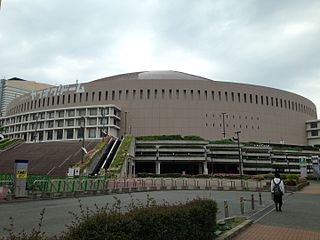 Fukuoka PayPay Dome Baseball stadium in Chūō-ku, Fukuoka