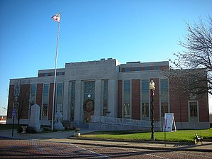 Das Calloway County Courthouse in Fulton