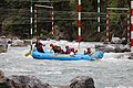 Fun on the water on the Kananaskis river Alberta Canada (28245414143).jpg