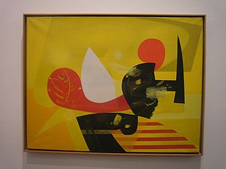 Antoni Tàpies - Image: Fundació Tàpies 03 Els Solcs (1952) Oli sobre tela