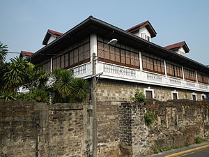 Palacio Arzobispal - A corner view of the Archbishop of Manila's Palace