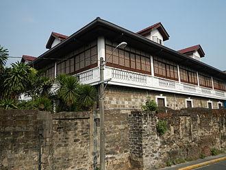 Palacio Arzobispal - A corner view of the Archbishop of Manila's Palace