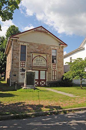 Lykens, Pennsylvania - Image: GAR BUILDING, LYKENS, DAUPHIN COUNTY, PA