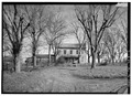 GENERAL VIEW OF HOUSE AND ENVIRONS FROM WEST - Rural Mount, State Route 160 vicinity, Morristown, Hamblen County, TN HABS TENN,32-MORTO.V,2-2.tif