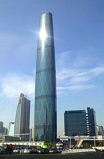 Guangzhou International Finance Center supertall skyscraper in Guangzhou