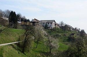 Gabrovo, Škofja Loka - Image: Gabrovo Skofja Loka Slovenia
