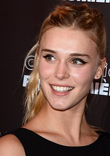 Gaia Weiss French model and actress