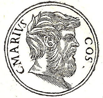 "Gaius Marius the Younger - Gaius Marius Minor from ""Promptuarii Iconum Insigniorum"""