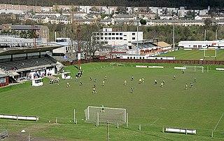 Netherdale Sports complex in Galashiels, Scotland