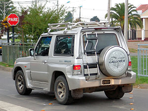 Hyundai Galloper - Image: Galloper innovation 2.5 turbo wagon