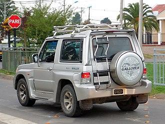 Hyundai Galloper - Image: Galloper innovation 2.5 turbo wagon
