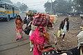 Gangasagar Pilgrims - Babu Ghat Area - Kolkata 2018-01-14 6493.JPG