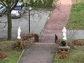 Garden of the Franciscan monastery in Katowice Panewniki 2012 XI g.JPG