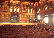 Gaston Hall is a venue for many events.