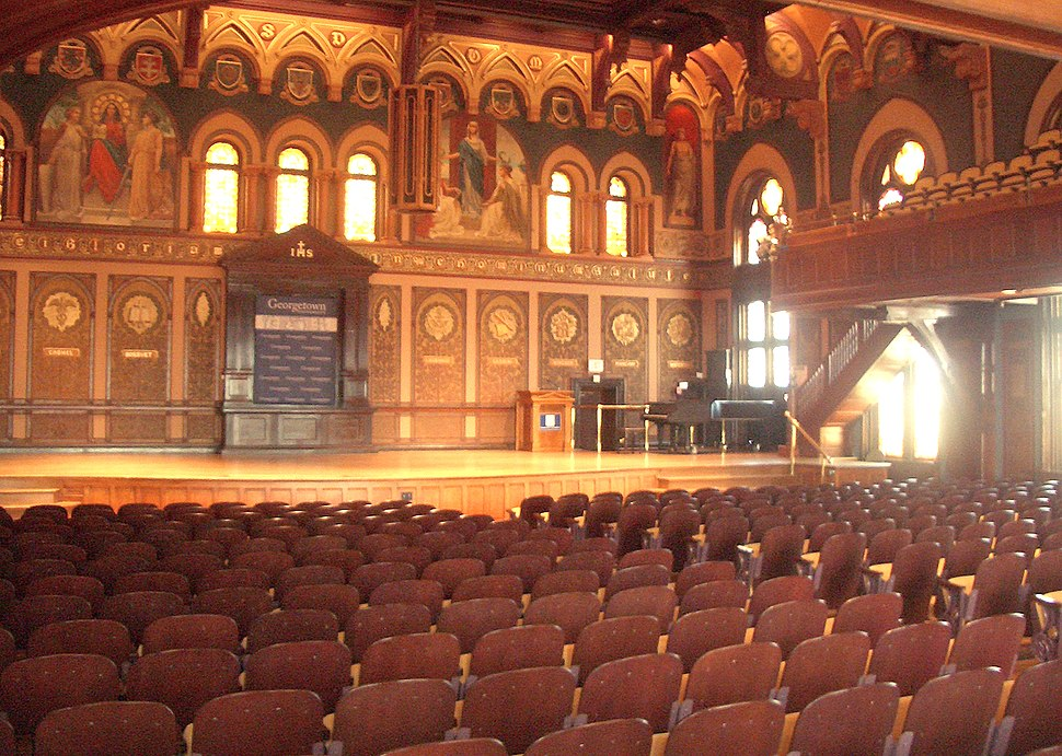 Gaston hall