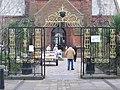 Gates to St. Nicholas Tower Chapel - geograph.org.uk - 127205.jpg