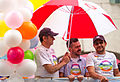 Gay pride TFL under umbrella (14555167993).jpg